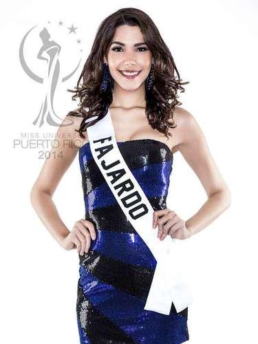 Miss Fajardo - Julimar Terie Santiago Rivera. Tiene 18 años de edad, mide 1.75 metros de estatura (5 ft 9 in) y procede de Fajardo.