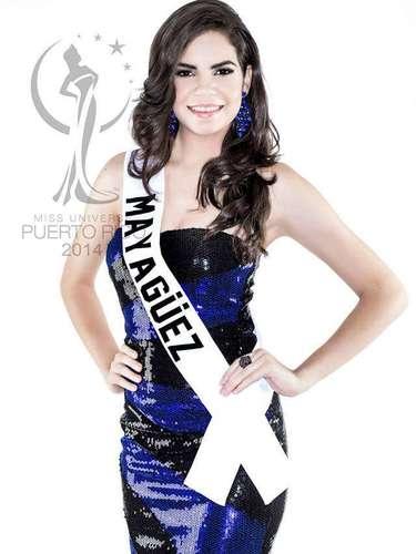 Miss Mayagüez - Alexandra Ninoshka Alemañy Ojeda. Tiene 17 años de edad, mide 1.68 metros de estatura (5 ft 6 in) y procede de Mayagüez.