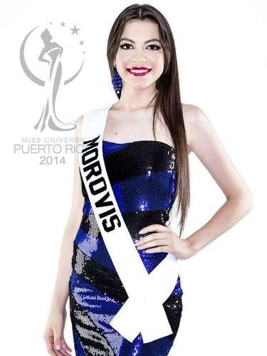 Miss Morovis - Luz Johanna Rivera Collazo. Tiene 25 años de edad, mide 1.70 metros de estatura (5 ft 7 in) y procede de Morovis.