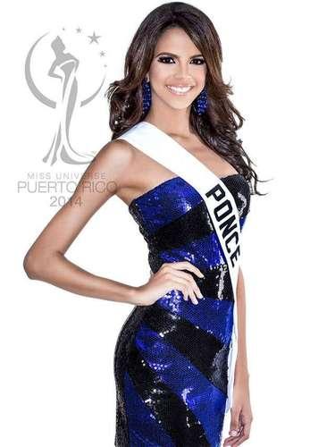Miss Ponce - Shantal Yaniré González Peña. Tiene 18 años de edad, mide 1.75 metros de estatura (5 ft 9 in) y prodece de Ponce.