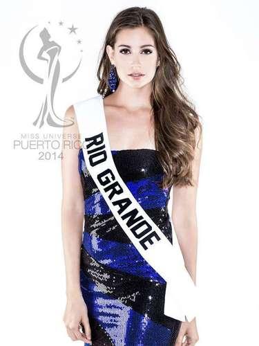 Miss Rio Grande - Larissa Santiago Escaso. Tiene 22 años de edad, mide 1.76 metros de estatura (5 ft 9 12 in) y procede de San Juan.