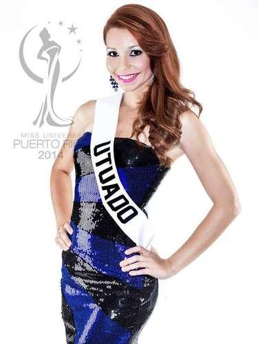 Miss Utuado - Natalie Maldonado Montalvo. Tiene 24 años de edad, mide 1.70 metros de estatura (5 ft 7 in) y procede de Utuado.