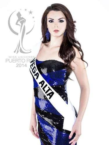 Miss Vega Alta - Weadaleth Albarrán Ortíz. Tiene 19 años de edad, mide 1.73 metros de estatura (5 ft 8 in) y procede de Vega Alta.