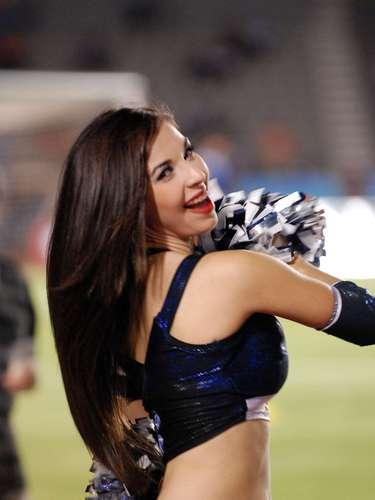 Las Rayaditasare the cheerleadersfor Monterrey and every 15 days they cheer from Tecnologico Stadium.