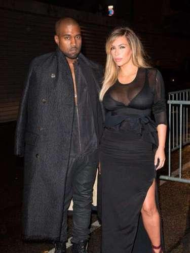 Kim Kardashian y Kanye West al parecer se encuentran más unidos que nunca desde el nacimiento de su hija.