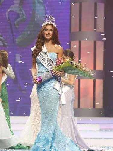 Ella es Gabriela Berríos Pagán, la joven que representará a la bella isla de Puerto Rico en el certamen internacional de belleza de Miss Unierso en 2014.