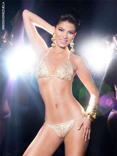 Miss Apure - Rogegsy Del Valle Rivas Sierra. Tiene 23 años de edad Mide 1.76 metros de estatura y su ciudad natal es Guayana.