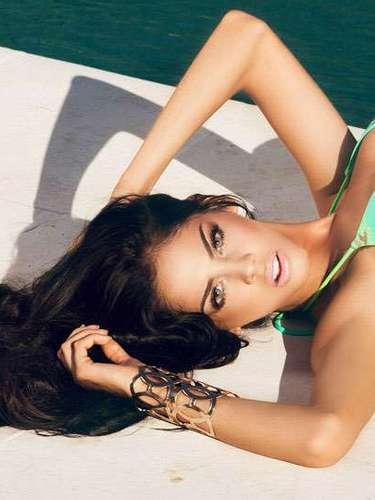 Espléndida Miss Paraguay, María Guadalupe González Talavera. Tiene 21 años y reside en Lambaré.