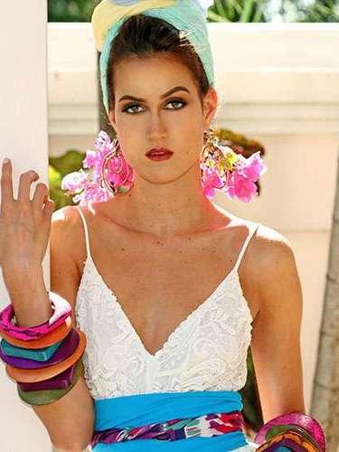 Una belleza fuera de lo común la de Miss Trinidad y Tobago, Catherine Miller. Tiene 21 años de edad y reside en Puerto España