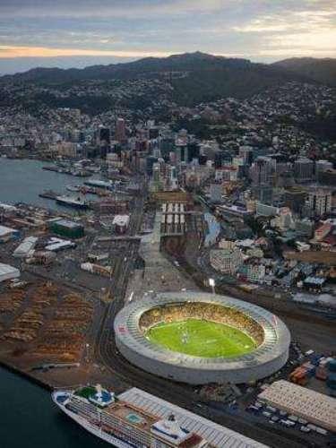 El Westpac le abre las puertas al futbol con uno de los últimos pasajes a la Copa del Mundo: el duelo decisivo entre Nueva Zelanda y México.