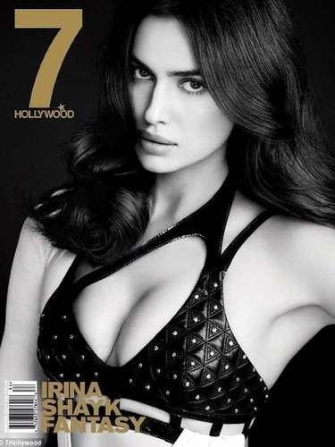 La modelo rusa Irina Shayk posó muy sensual y reveladora para un sesión fotográfica en la revista 7 Hollywood.
