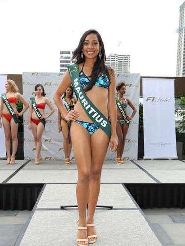 Miss Mauricio - Virginie Dorza. tiene 20 años y procede de Ciudad Victoria.