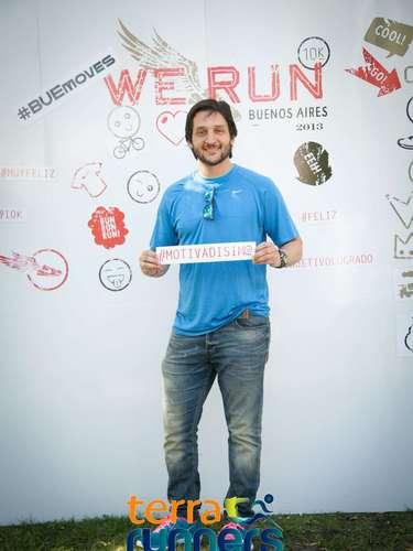 Paoloski dejó su palabra motivadora para los corredores