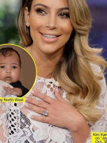 Kim también fue protagonista de diversas publicaciones por su aumento de peso. El parto y los meses posteriores al nacimiento de North West hubo total hermetismo sobre cualquier tipo de información referente a la niña.