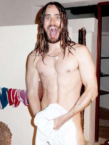 Jared Leto posó se quitó la ropa para el polémico Terry Richardson, fotógrafo que durante 2013 retrató en varias ocasiones a la traviesa Miley Cyrus.