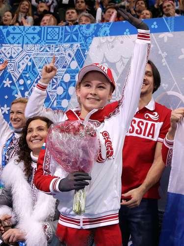 Desde ahora ya es la estrella a seguir en Sochi.