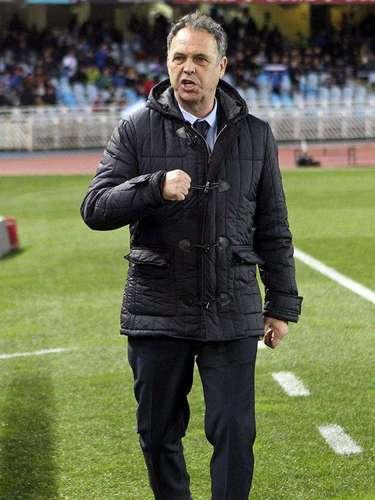 Joaquín Caparrós, entrenador del Levante