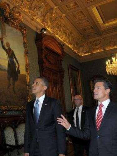 En esa reunión, Obama y Peña Nieto acordaron la conformación de un grupo de alto nivel que permita potenciar la relación económica y comercial entre ambos países.