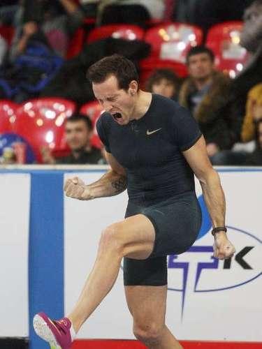El salto de récord mundial de Lavillenie