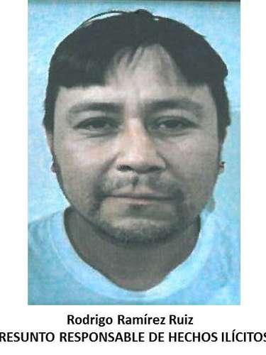 Policías federales se trasladaron a la colonia Lomas del Porvenir, lugar en el que ubicaron y detuvieron a otro presunto delincuente identificado como Rodrigo Ramírez Ruiz.