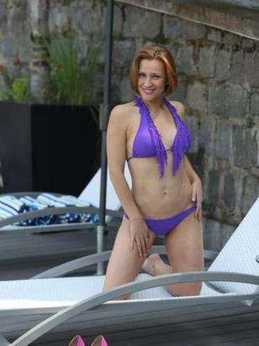 Sigrid Alegría, 39 años.