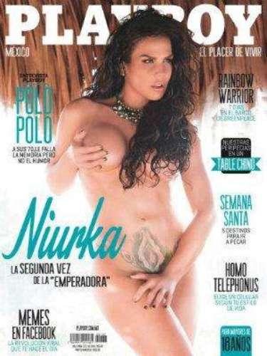 Niurka Marcos.- La controversial actriz posó por segunda vez en Playboy a sus casi 46 años de edad, demostrando que tiene el cuerpo en gran forma.