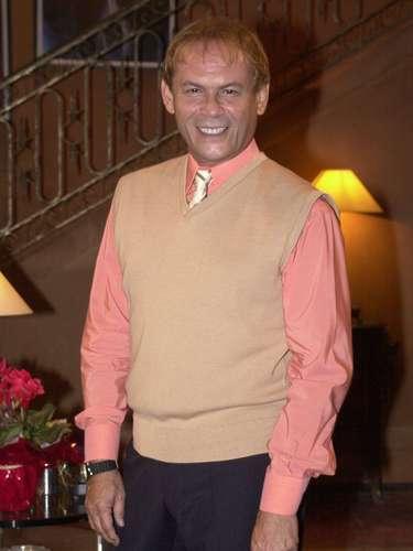 José Wilker fallecióeste sábado a la mañana, víctima de un infarto fulminante, en su casa de Río de Janeiro.En esta foto, el actor en la novela 'Desejos de Mulher'