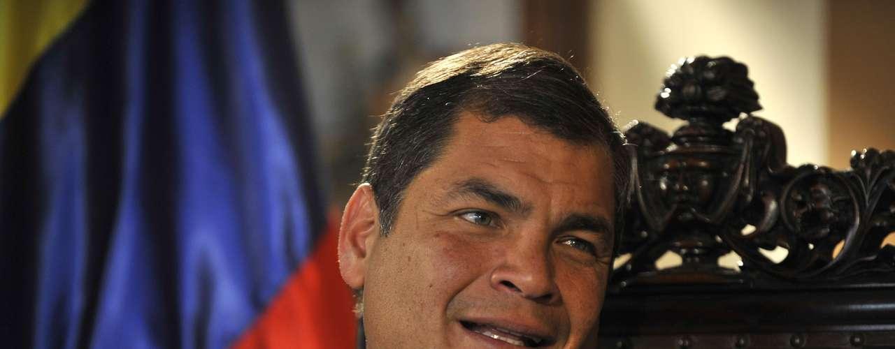 Rafael Correa - El presidente de Ecuador, Rafael Correa, acudirá a la Conferencia de la ONU  sobre el Desarrollo Sostenible. Ecuador propondrá insertar en el pilar del progreso sostenible el tema de la cultura como articuladora y generadora del equilibrio entre lo económico, lo social y lo ambiental.