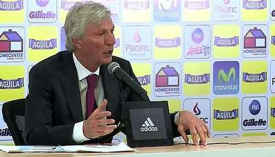 Pekerman no especula con el regreso de Falcao Video: AFP