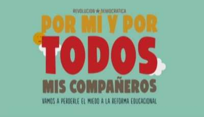 Con este video derriban mitos de la Reforma Educacional Video: