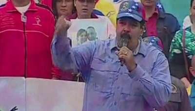 Maduro acusa a ex presidentes de planes golpistas Video: