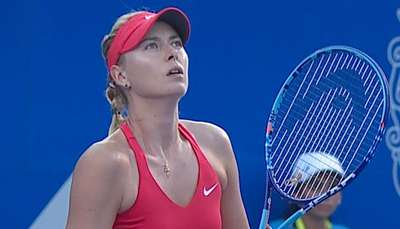 Sharapova enferma y se retira del Abierto Mexicano Video: