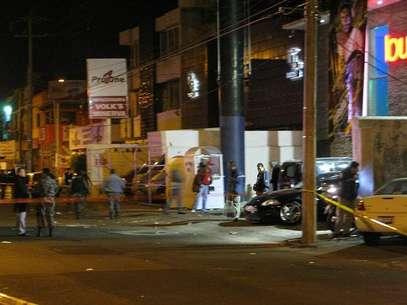 Ataque a Bar en Jalisco Foto: Víctor M. Ramírez Álvarez/Terra / Terra Networks México S.A. de C.V.