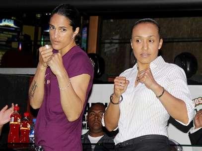 Kina Malpartida y Rhonda Luna pelearán este 16 de abril. Foto: Martín Borda / Terra Perú