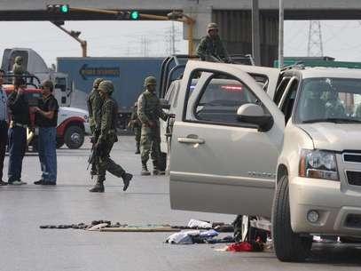 Huellas de la violencia. Foto: Notimex / Archivo. / Terra Networks México S.A. de C.V.