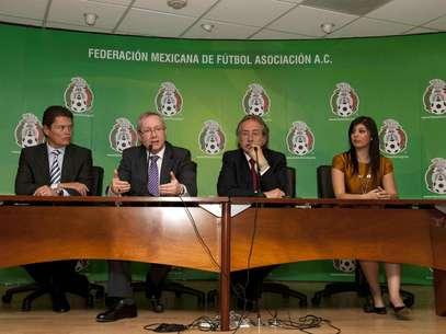Fue presentada en la Federación Mexicana de Futbol la agencia que venderá boletos para el Mundial del 2014. Foto: Omar Martínez / Mexsport