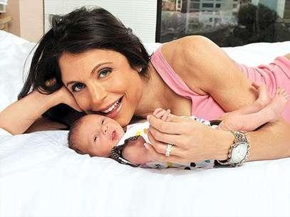 Bethenny Frankel y su hija Bryn. La ex real housewife dijo que perdió un segundo embarazo. Foto: Divulgación