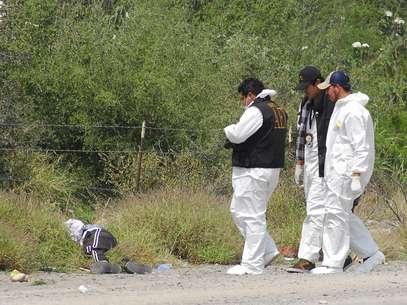 Se trata del segundo hecho violento en el que elementos de Tránsito son ejecutados  Foto: Terra/Carlos Pérez