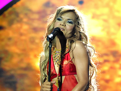 Shakiro pasó a la semifinal de 'Colombia tiene talento'. Foto: RCN