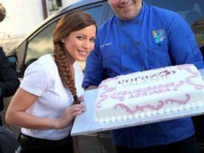 VIDEO Adriana Fonseca recibe sorpresa de su novio Foto: Agencia Mezcalent