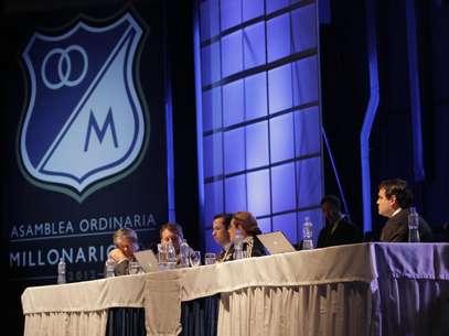 Millonarios presentó a sus accionistas el estado financiero del club. Foto: David Felipe Rincón / Terra