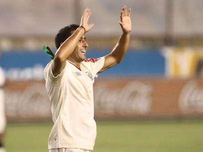 Ximénez anotó el gol definitivo y es el segundo que le marcó a Cienciano en lo que va del año. Foto: Miguel Bustamante / Terra Perú