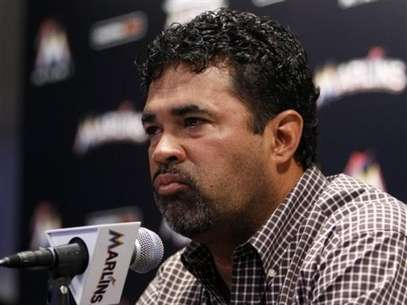 Ozzie Guillén, entrenador de los Marlins de la Florida Foto: AP
