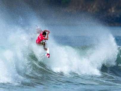 Juninho Urcia es una de las principales cartas del 'team' peruano en en Mundial Junior de surf. Foto: Gentileza