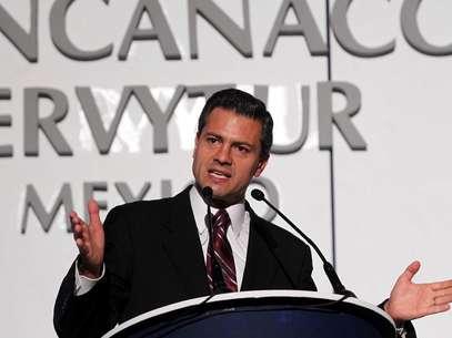 Peña Nieto empezó a despegar políticamente en la gestión de Arturo Montiel en el Gobierno del Estado de México. Foto: Notimex