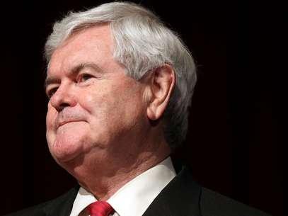 Gingrich había dicho anterirormente que se mantendría en la carrera a pesar de que no tenía posibilidades de ganar la nominación. Foto: Getty Images