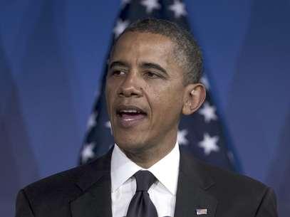 En esta foto del 8 de mayo de 2012, el presidente Barack Obama habla en Washington. El miércoles 9, Obama dijo que está a favor de los matrimonios gay   Foto: Evan Vucci, archivo / AP