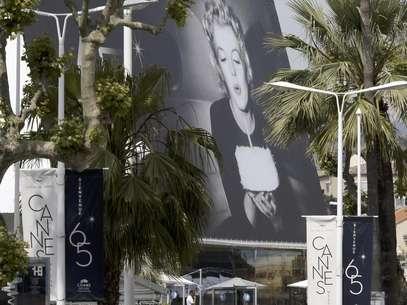 Una vista de la sede del 65 Festival de Cine de Cannes en Cannes, Francia, el martes 15 de may0 de 2012.  Foto: Lionel Cironneau / AP