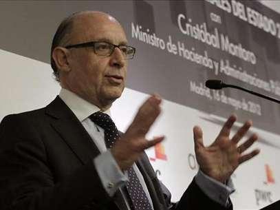 El ministro Cristóbal Montoro (Agencia: EFE) Foto: Telefónica de España, SAU