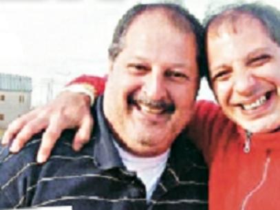 Martínez y Vázquez, juntos en la carcel de Ezeiza Foto: Diario Crónica